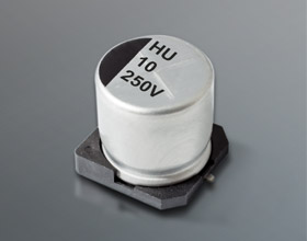 HHU HIGH VOLTAGE LONG LIFE ELECTROLYTIC CAPACITOR